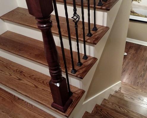 Preferred Hardwood And Steps Dinsmore Flooring Omaha Ne Dn67